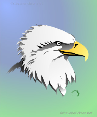 Eagle Profile Face