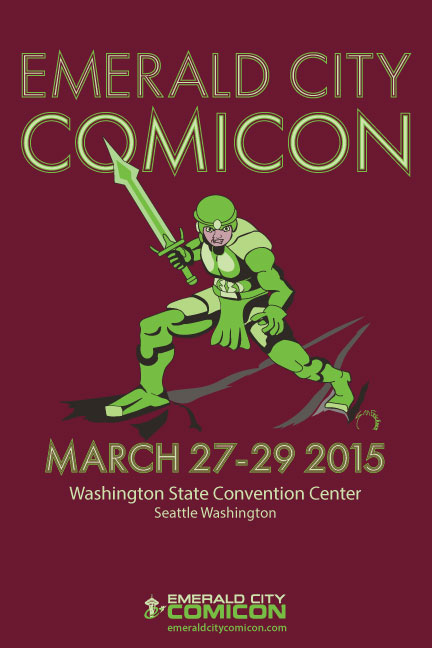 Emerald City Comicon Poster
